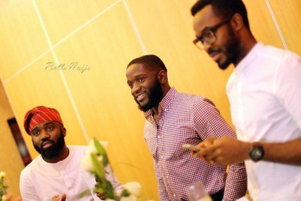 Noble Igwe, DJ Obi & OC Ukeje