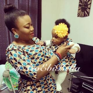 Princess Yetty and Baby Niniola