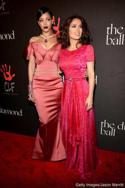 Rihanna & Salma Hayek