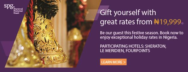 Starwood Prefered Guest Festive Season Discount - BellaNaija - December 2014