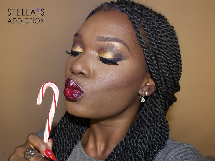 Stella's Addiction Warm Glam Makeup Tutorial - BellaNaija - December 2014001