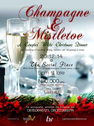 TW Champagne & Mistletoe Party - BellaNaija - December 2014