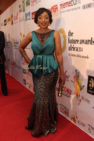 Dakore Akande in Melike Couture