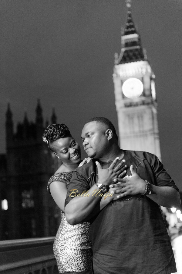 #TobiTeyeNoni | Paris & London Pre-Wedding Shoot | BellaNaija 0003