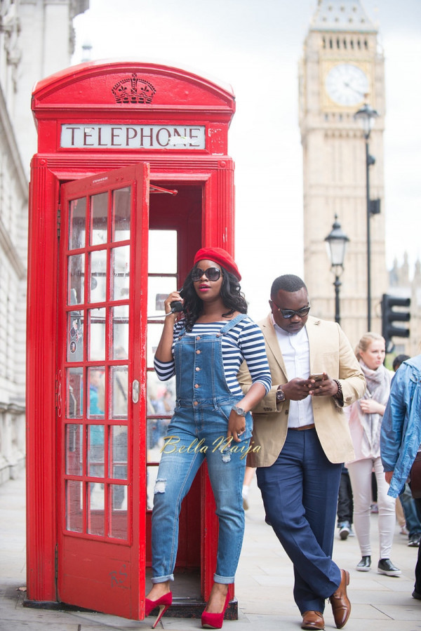 #TobiTeyeNoni | Paris & London Pre-Wedding Shoot | BellaNaija 0137-2