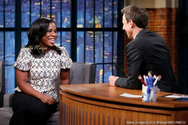 Uzo-Aduba-Seth-Meyers-December-2014-BellaNaija002