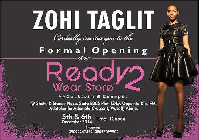 Zohi Taglit Store Launch - BellaNaija - December 2014