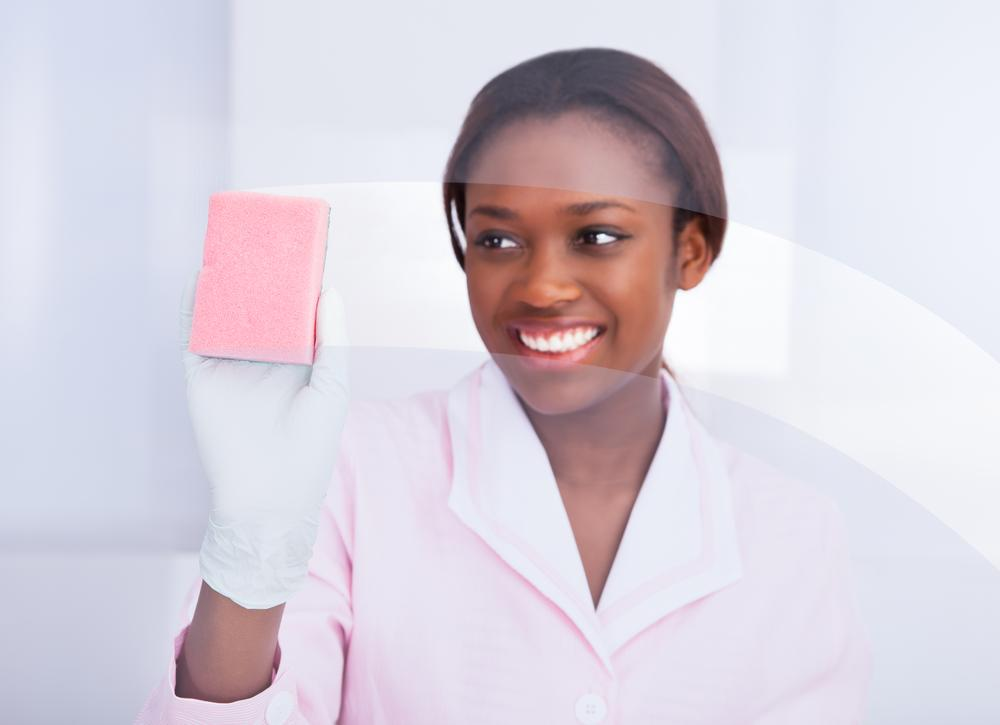 winifred ad o the charming bathroom janitor