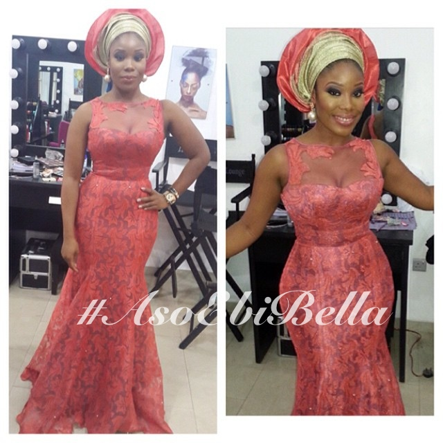 dress by @topefnr, makeup by @beautybyqueen_