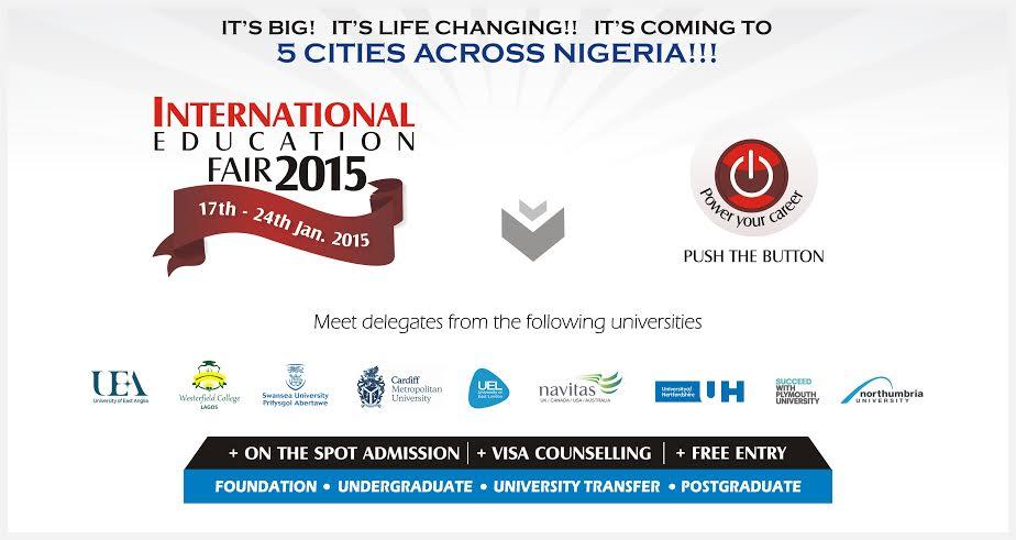 2015 International Education Fair - BellaNaija - January 2015