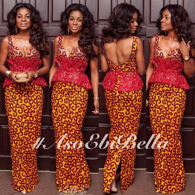@empress_jamila in dress by @pistisgh