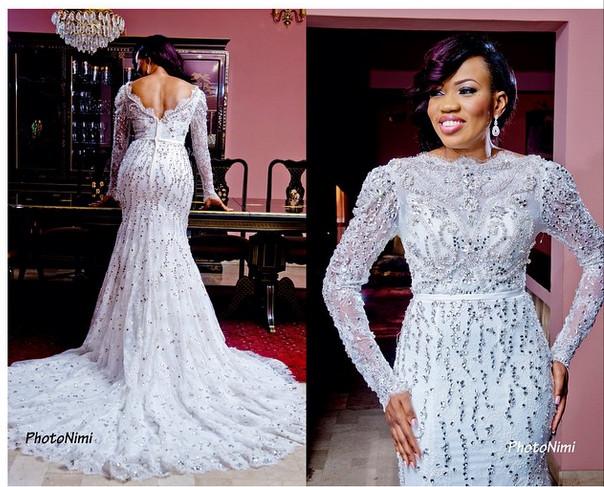 @primarougefashion wedding dress