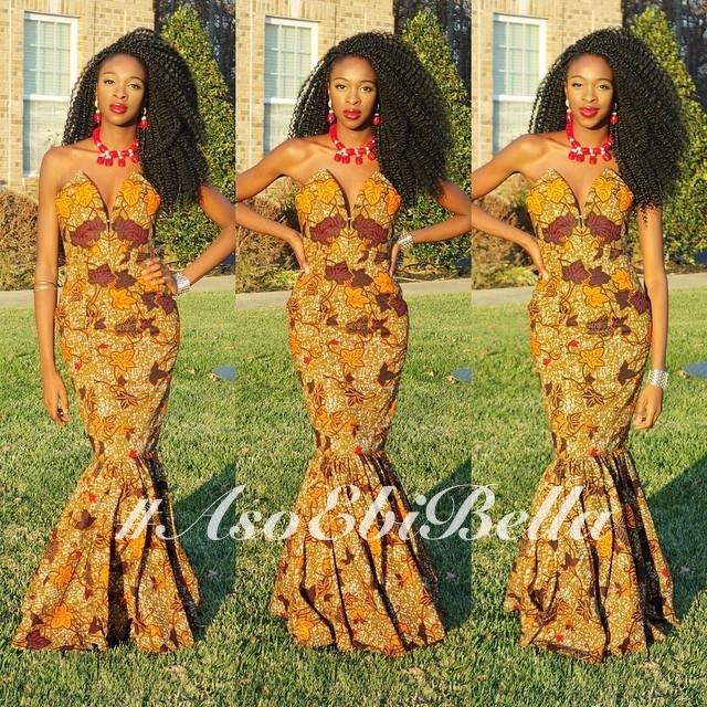 @yomilewa, dress by @nanawax