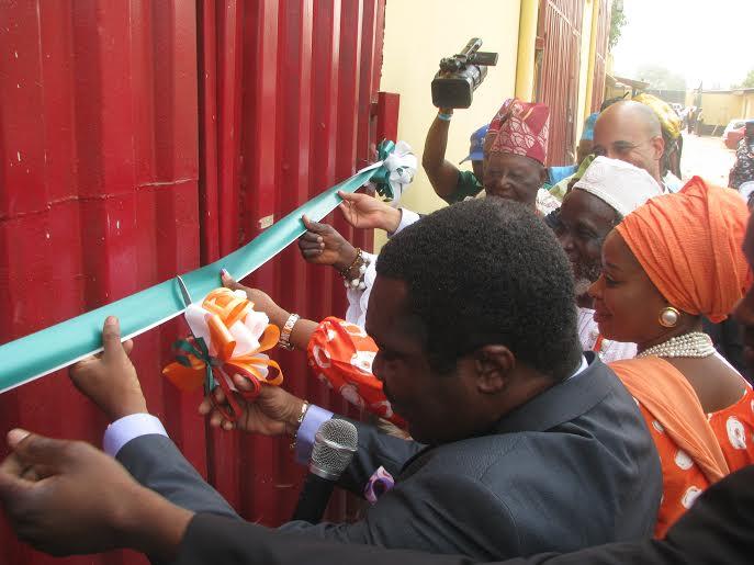 Oba of Ijoko, Ndidi Nwuneli, Co-Founder, AACE Foods & Olufunso Amosun