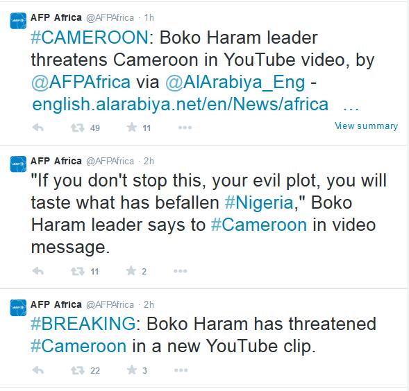 AFP Africa Tweets