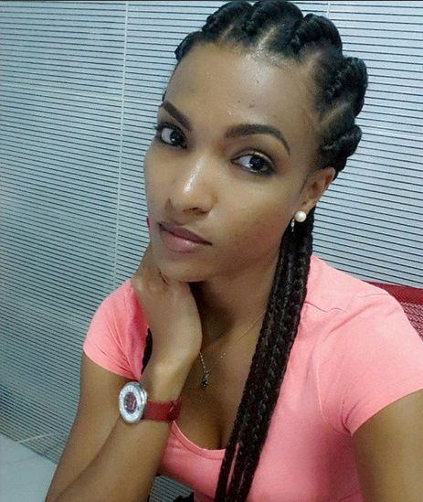 Magnificent It39S Braids Amp Locs Season From Yemi Alade To Bubu Ogisi Check Hairstyles For Women Draintrainus
