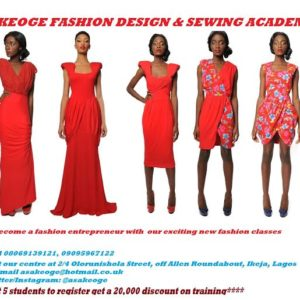 Asake Oge Fashion Design & Sewing Academy - BellaNaija - January2015