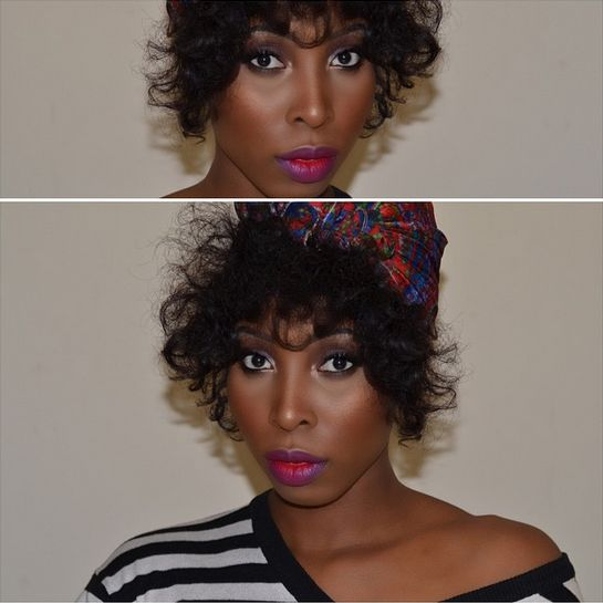 BN Beauty MiszPoshMUA Makeup Tutorial - BellaNaija - January 2015