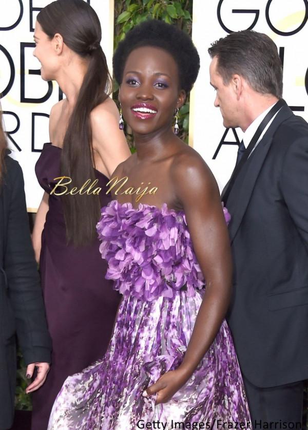 BN Beauty Profile Lupita Nyongo at 72nd Golden Globes - BellaNaija - January 2015001_001