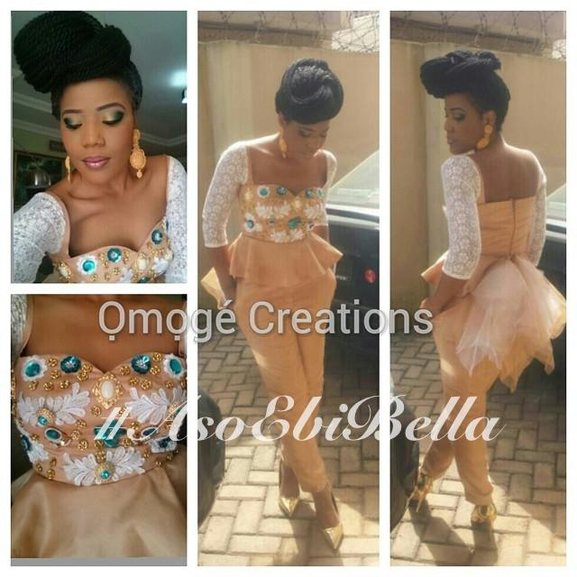BN bride @omogecreations
