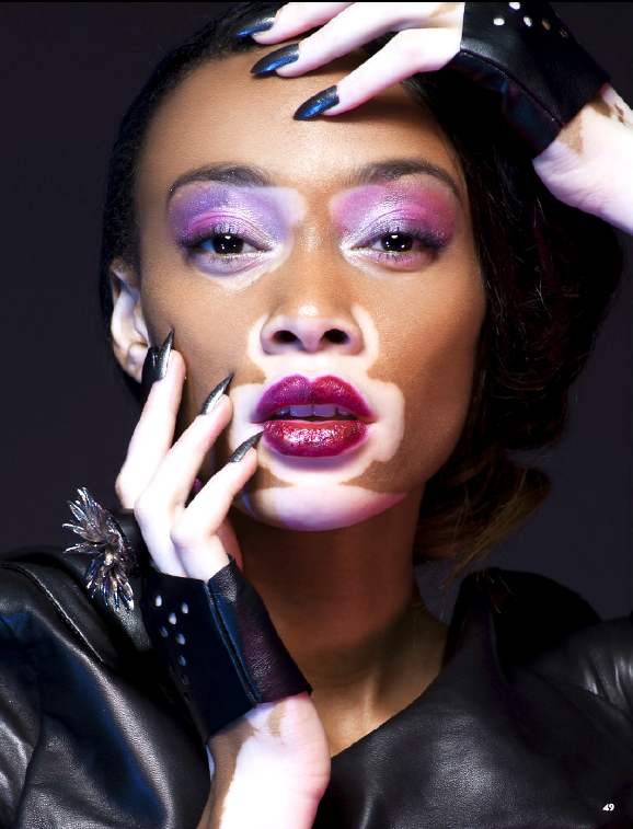 Chantelle Winnie Harlow for Nord - BellaNaija - January2015