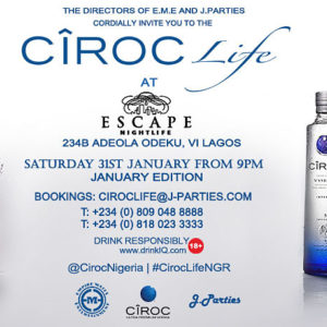 Ciroc Life January 2015 Edition - BellaNaija - January 2015