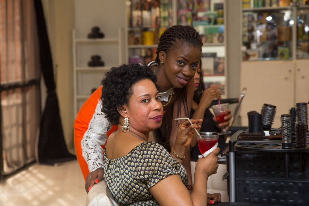 Cointreau hosts T'Yanna Spa & Salon's Christmas Party - Bellanaija - January2015010