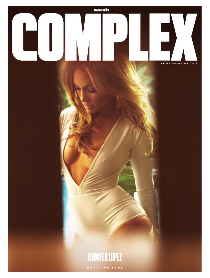 Complex Magazine Cover Jennifer Lopez 2015