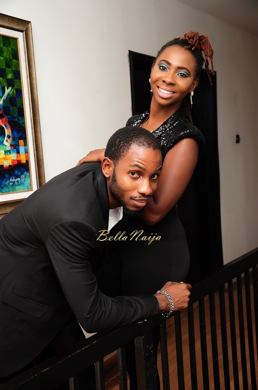 Cool FM OAP Shine Begho & Seth Pre-Wedding Shoot | Januray 2015 | BellaNaija01
