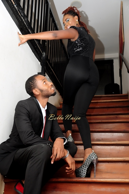 Cool FM OAP Shine Begho & Seth Pre-Wedding Shoot | Januray 2015 | BellaNaija12