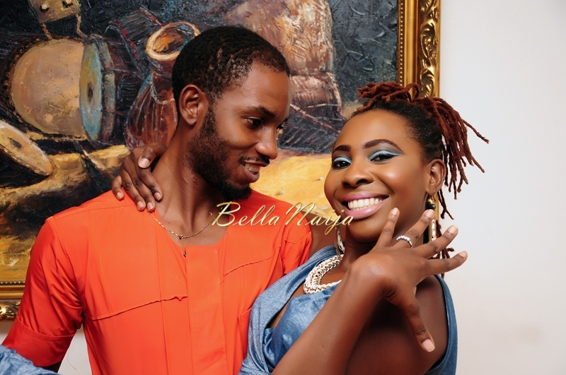 Cool FM OAP Shine Begho & Seth Pre-Wedding Shoot | Januray 2015 | BellaNaija17