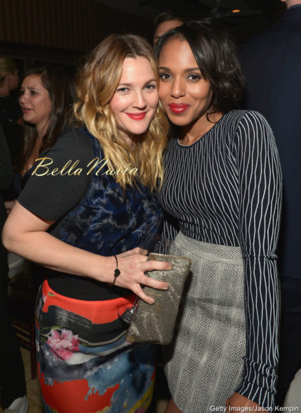 Drew Barrymore & Kerry Washington
