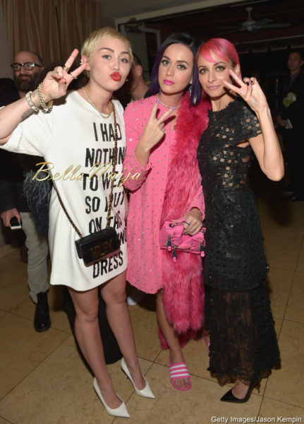 Miley Cyrus, Katy Perry & Nicole Richie