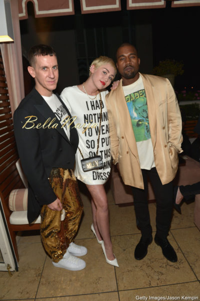 Jeremy Scott, Miley Cyrus & Kanye West