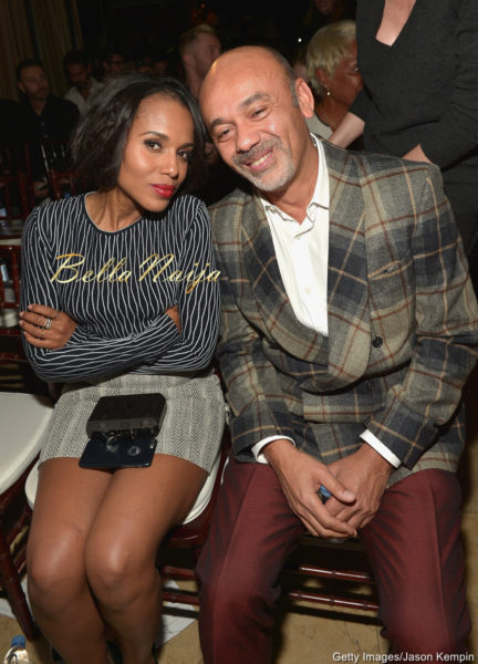Kerry Washington & Christian Louboutin