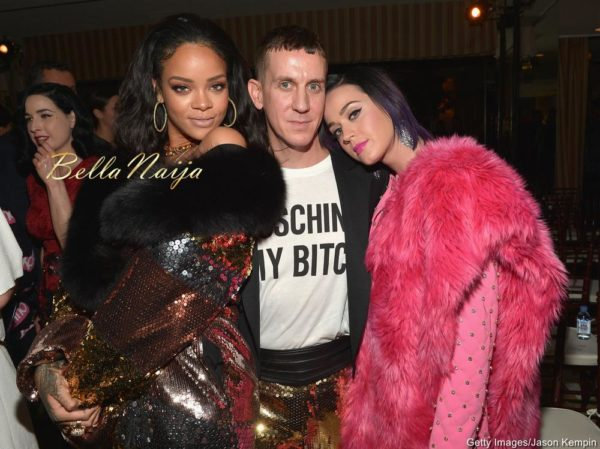 Rihanna, Jeremy Scott & Katy Perry