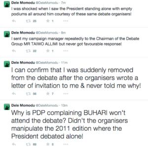 Dele Momodu- Buhari PDP Debate