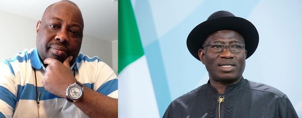 Image result for Dele Momodu and Goodluck Jonathan