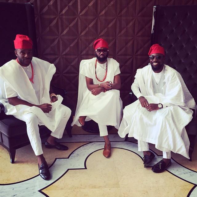 Ebuka, Noble Igwe, Olamide Adedeji
