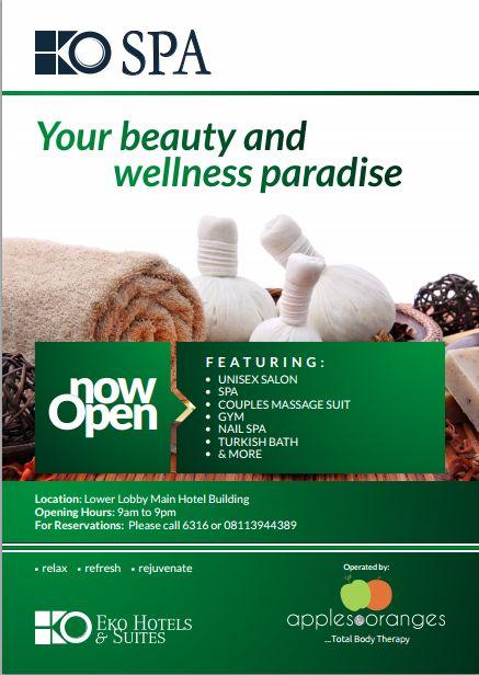 Eko Spa by Eko Hotels & Suites and Apples & Oranges - BellaNaija - January2015
