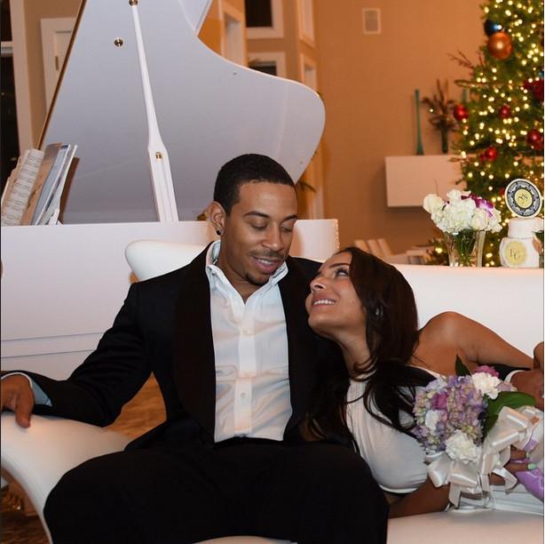 Eudoxie & Ludacris Wedding 1