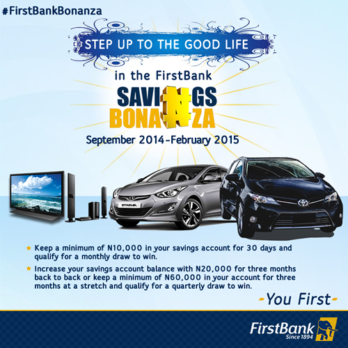 First Bank Bonanza - BellaNaija - January2015