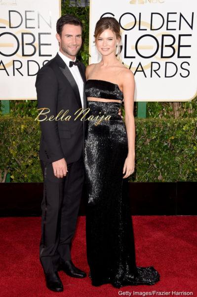 Adam Levine & Behati Prinsloo