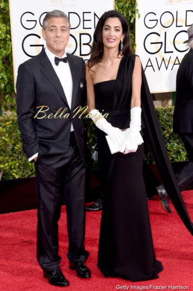 George Clooney& Amal Alamuddin Clooney