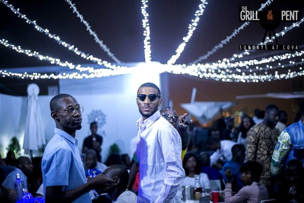 Grill at the Pent Anniversary Party - Bellanaija - January2015014