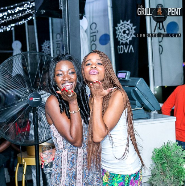 Grill at the Pent Anniversary Party - Bellanaija - January2015023
