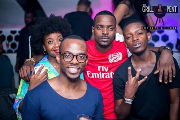 Grill at the Pent Anniversary Party - Bellanaija - January2015042
