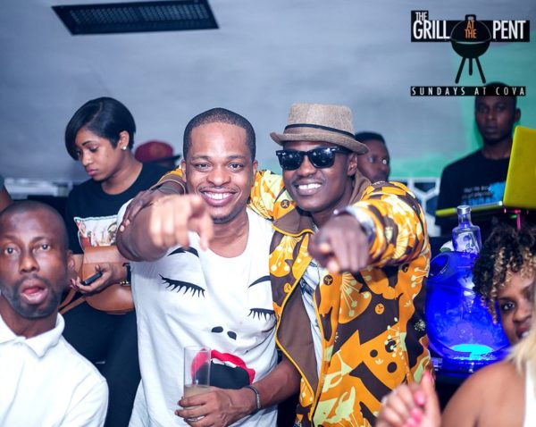 Grill at the Pent Anniversary Party - Bellanaija - January2015057