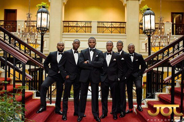 Groom Inspiration on BellaNaija Weddings | Suit Black @jotphotograhy for @alakijastudios