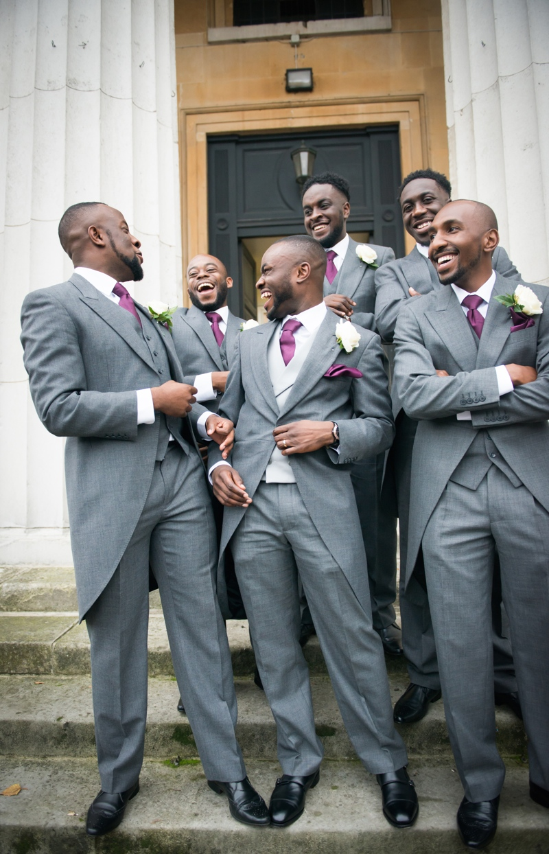 Groom Inspiration On Bellanaija Weddings Suit Grey T Philips